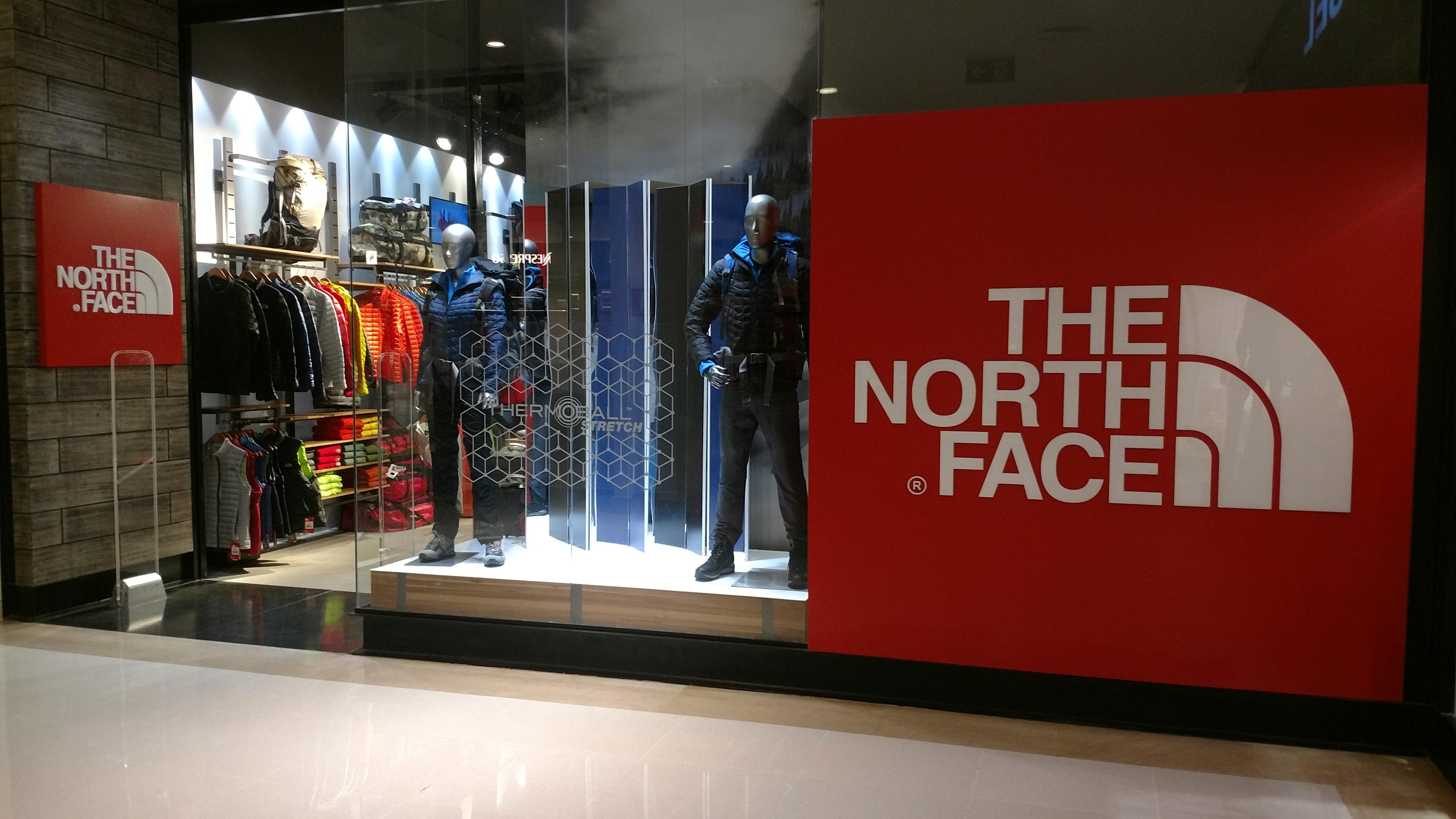 onde comprar north face em curitiba