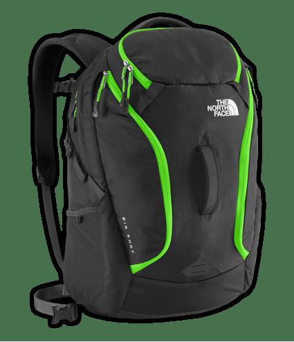 CLG7BSZ-mochila-big-shot-preto-verde-frente