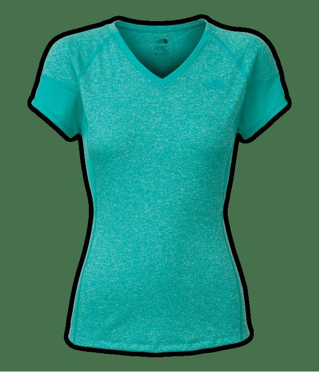 CDR7ESJ-camiseta-reactor-manga-curta-verde-feminina-frente