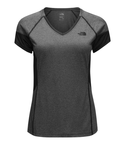 CDR7FLC-camiseta-reactor-manga-curta-cinza1-feminina-frente