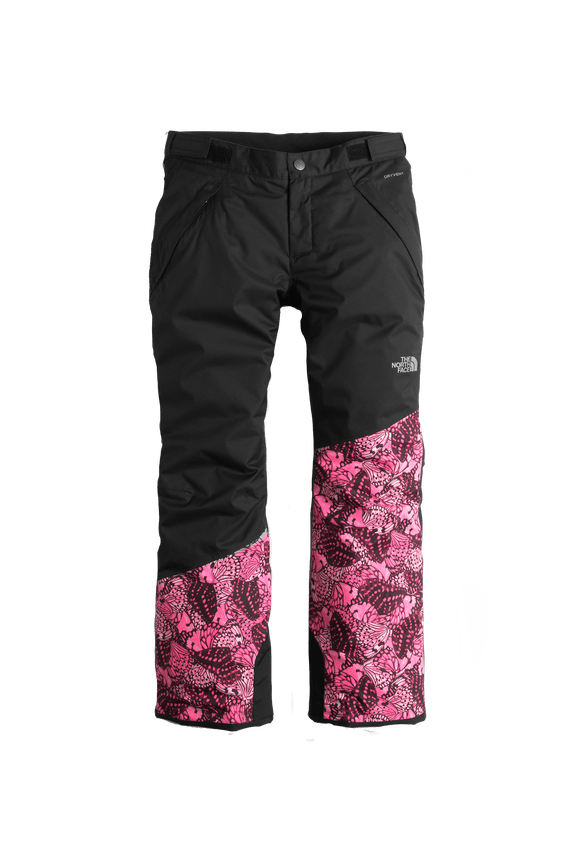 2TLZHTD-Calca-Freedom-Insulated-Infantil-Feminina-Preto-Frente