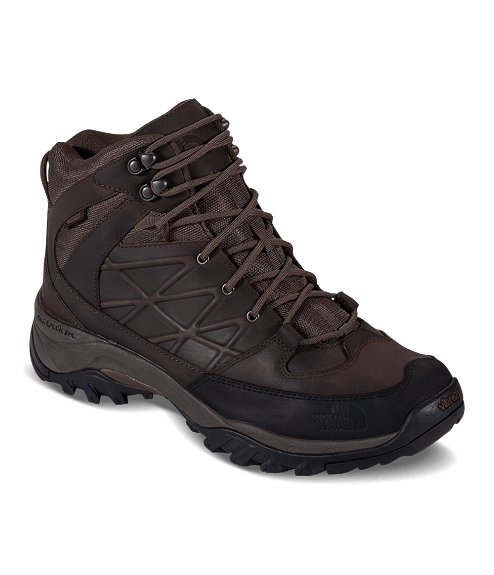 bfb8e9b620f Bota Storm Mid Wp Leather Masculina Marrom - The North Face
