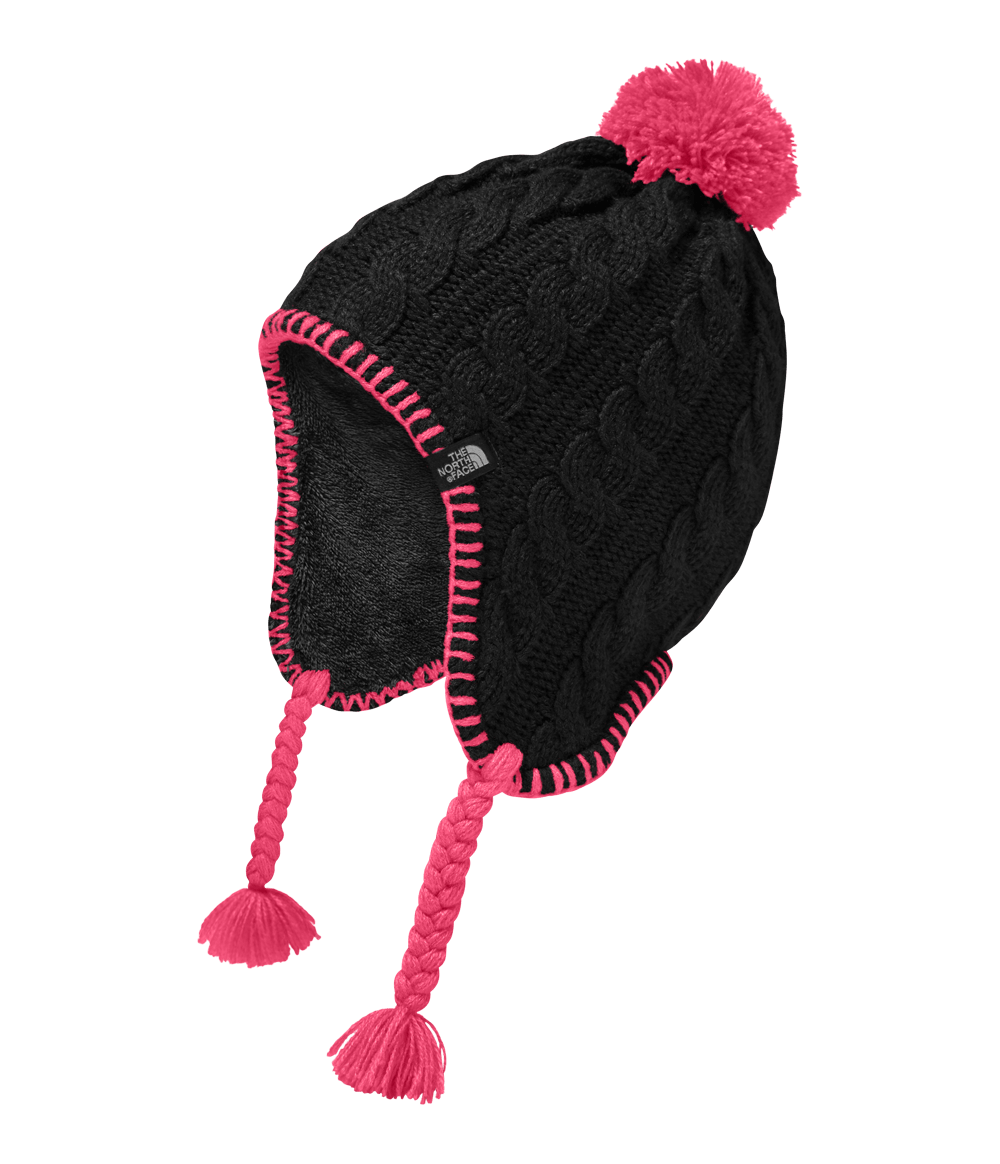 GORRO FUZZY EARFLAP INFANTIL FEMININO - The North Face 9a9cced4fba