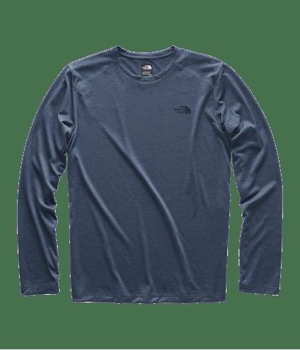 f3e1bd4989c Camiseta Hyperlayer Manga Longa Masculina Azul