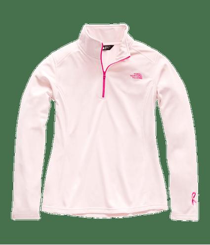 3OA97YQ_Fleece-Tka-14-Zip-Feminino-Rosa-Detal1