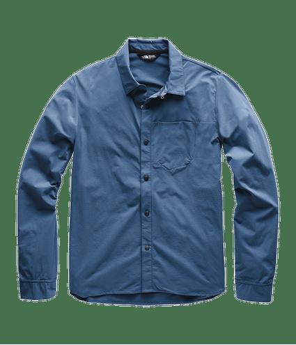3SOHHDC-Camisa-masculina-noth-dome-azul-detal1