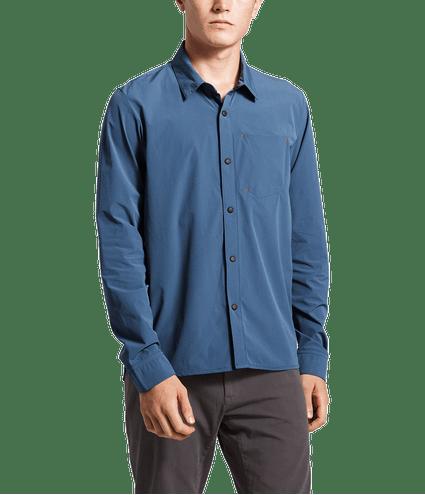 3SOHHDC-Camisa-masculina-noth-dome-azul-detal2