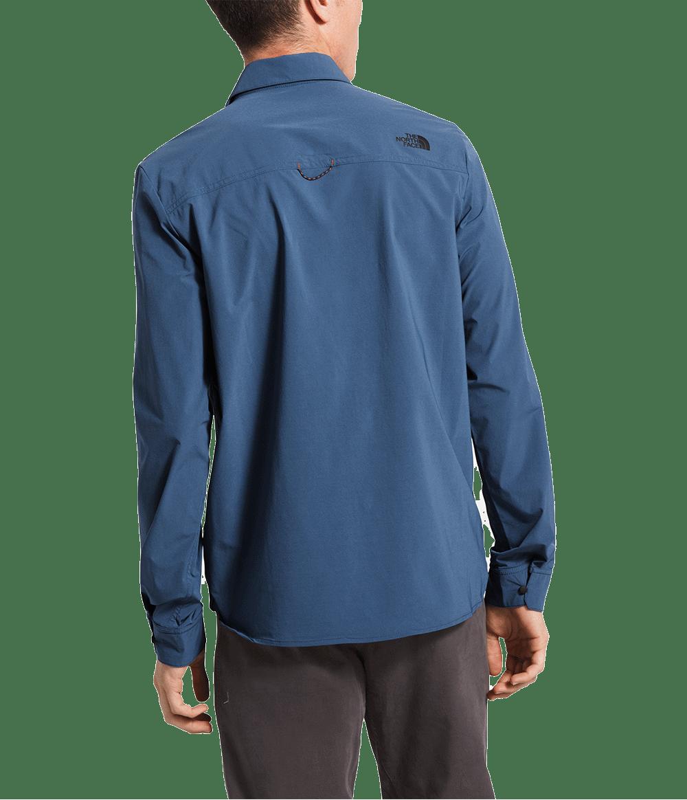3SOHHDC-Camisa-masculina-noth-dome-azul-detal3