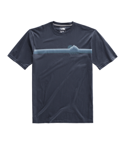 3SXKH2G-Camiseta-Masculina-The-North-Face-Retro-Sunsets-Azul