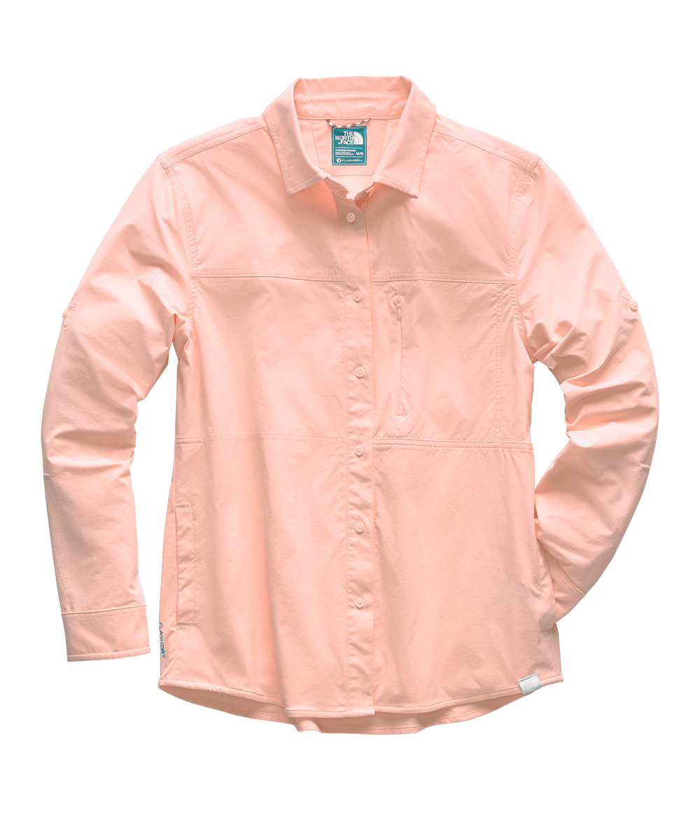 3SOR8ED-Camisa-Boreaz-Rosa-Feminina-The-North-Face