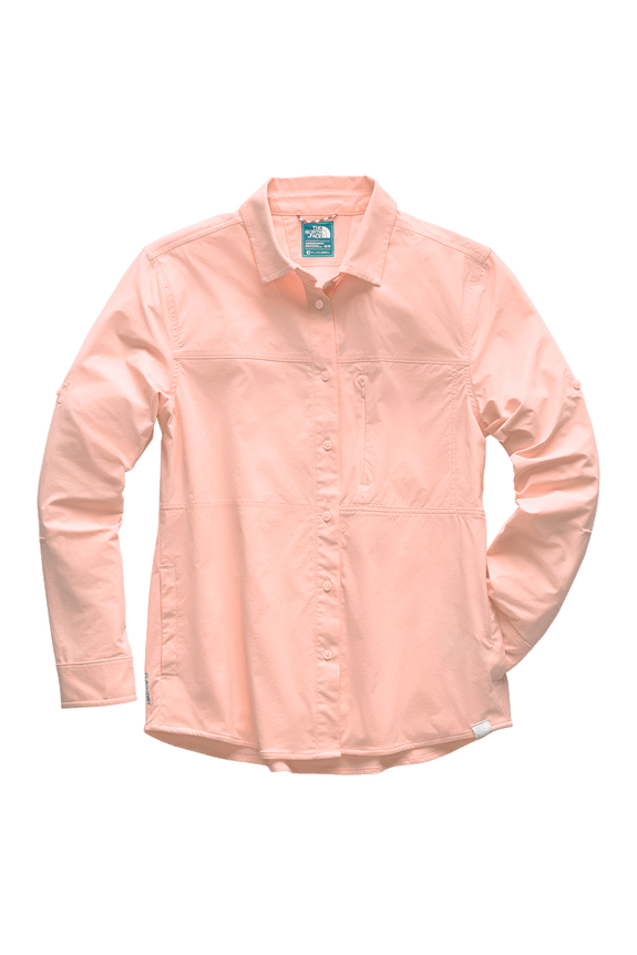 3SOR8ED-Camisa-Boreaz-Rosa-Feminina-The-North-Face