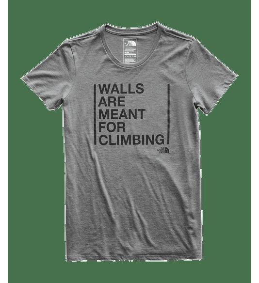 3WU4DYY-Camiseta-Meant-to-be-climbed-The-North-Face-Feminina-Cinza