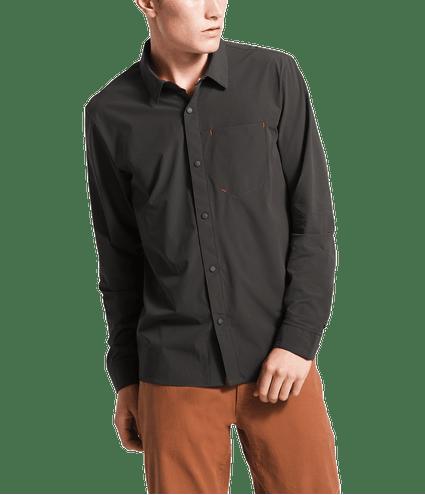 3SOH0C5-camisa-masculina-cinza-manga-longa-north-dome-detal2