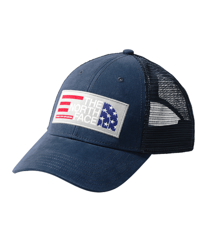A355JH2G boné americana trucker the north face azul