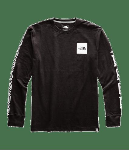 3SXZKY4-Camiseta-Masculina-Manga-Preta-Longa-Half-Dome-Heavyweight-detal1