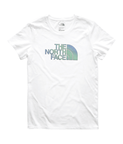 3NW3B7W-Camiseta-Feminina-Branca-Half-Dome-The-North-Face