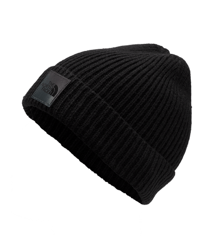 3FJXAW2-GORRO-PRETO-THE-NORTH-FACE-LOGO-BOX-CUFFED