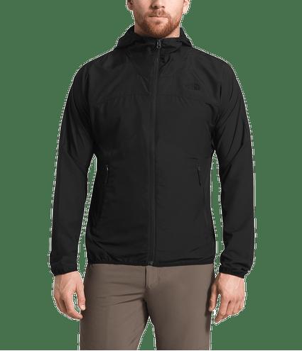 3SNYJK3-jaqueta-corta-vento-masculina-flyweight-hoodie-preta-detal2