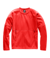 48KLXE5-Fleece-Galcier-Pullover-Crew-Feminino-Vermelho-Detail1