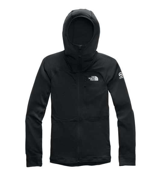 3SQAJK3-Fleece-Feminino-Summit-L2-Power-Grid-LT-Com-Capuz-Preto-detalhe-1