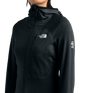 3SQAJK3-Fleece-Feminino-Summit-L2-Power-Grid-LT-Com-Capuz-Preto-detalhe-5